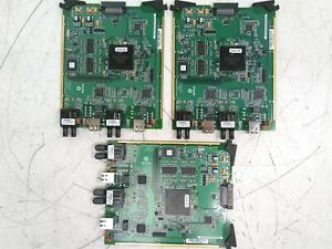 Lot of 3 GE Multilin 12P0-0014-A2 A1 Paradigm Comm. Module Untested AS-IS Parts