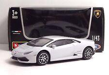 """Bburago 30290 Lamborghini HURACAN """"Pearl White""""  ++ METAL Scala 1:43"""
