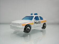Diecast Matchbox Vauxhall Astra Opel Kadett GSI Police 1985 White Good Condition