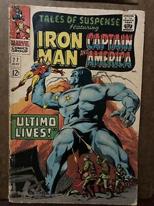 Tales Of Suspense Featuring Iron Man And Captain America No 77 Ultimo Lives
