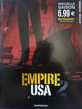 DESBERG, GRIFFO. Empire USA 2. Tome 1. Dargaud (2011).