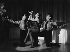 Photo originale Zizi Jeanmaire Folies-Bergère cabaret