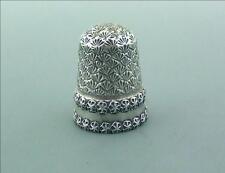 Vittoriano Inglese in argento DITALE eccellente Saunders & Sheperd