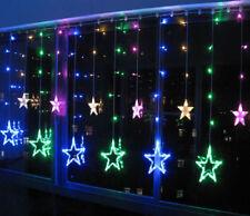 Twinkling Stars Fairy String Lights Window Display Xmas Christmas Multicolor UK