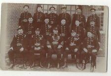 More details for farnham fire brigade 1907 vintage rp postcard surrey 363c