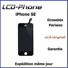 Ecran iPhone SE Noir LCD + Vitre Tactile Sur Chassis- RETINA ORIGINAL