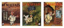 BD prix réduit Maltais (Le) Série 3 tomes Le maltais