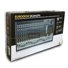 Behringer Eurodesk SX2442FX Mixer Console forLive Studio Recording Multi-Effects