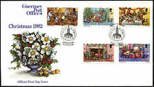 Guernsey 1982 Christmas FDC First Day Cover #C41891