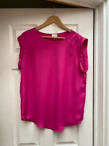 Reiss  Pink Top Size 12