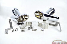 Mercedes-Benz W221 07-13 S-Class Chrome Exhaust Single Tail Pipe Tip  Germany