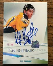 09-10 UD THE CUP Enshrinements AUTOGRAPH  Ray Bourque #D 45/50  Bruins Avalanche