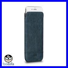 SENA Ultraslim Heritage genuine leather case/pouch, iPhone 7/8 Plus, Denim Blue