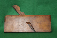 """Antique Vintage Ohio Tool 1/2"""" No 3 Round Woodworking Moulding Plane Inv#FB15"""