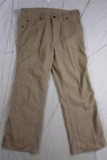 Vtg 70s Levi Movin On Flare Leg 517 ? Cotton Pants Measure 32x28 Talon Zipper