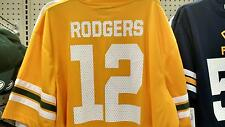 BRAND NWT NFL GREEN BAY PACKERS AARON RODGERS #12 JERSEY MEN'S SIZE SMALL