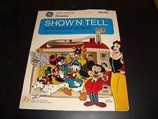 Show N Tell Picturesound Program Disney's Pinocchio VG - EX Condition WD-102