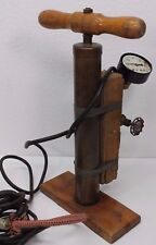 "Antique Vintage Brass Bike Pump Beekman 16"" Not Tested For Display or Repair"