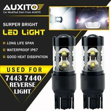 2X 7443 Back Up Reverse Lights Bulbs 50W LED 6000K Extremely Bright 2800LM US EA