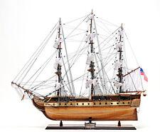 Old Modern Handicrafts USS Constitution Ed. Model Ship T012