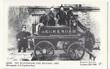 London; Beckenham Fire Brigade c 1875 Repro RP PPC By Pamlin M2103