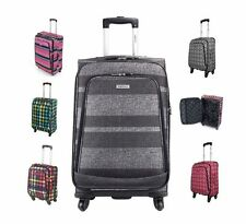 Spinner (4) Unisex Adult Synthetic Lightweight Suitcases