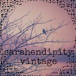sarahendipity vintage