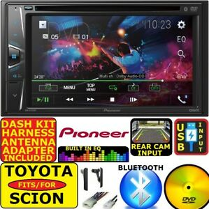 FOR TOYOTA & SCION PIONEER Dvd Cd Bluetooth  Usb Aux Car Radio Stereo Double Din