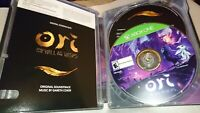 Steelbook and Game ONLY - Ori and the Will of the Wisps Microsoft Xbox One