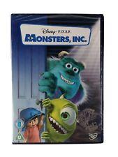 Disney Pixar Monsters Inc. DVD New Sealed