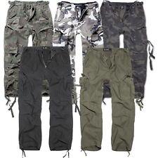 Brandit M65 Vintage Trouser 1001 Herren Armee Cargo Hose Army Pants US Loose Fit