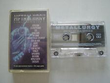 METALLURGY V.A. UK CASSETTE 1995 Sepultura FAITH NO MORE Napalm Death METAL