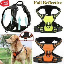 Upgrade No-pull Dog Pet Harness Pet Vest Comfy Padded Handle Night Reflective 3M