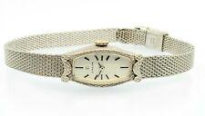 Omega Watch 14K White Gold Ladies
