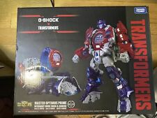 New Takara Tomy Transformers G-Shock Master Optimus Prime Figure Only