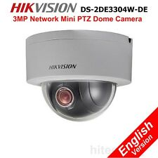 Hikvision DS-2DE3304W-DE 3MP Mini PTZ IP Security Camera DWDR Onvif 4x Network