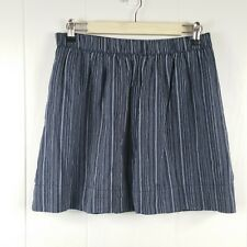 270277e6ac GAP Women's Size M Navy Blue Striped Lined Mini Skirt W/ Pockets