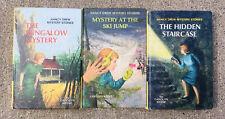 Nancy Drew Mystery Book Hardback Carolyn Keene Lot of 3