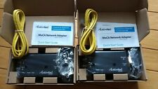 NEW Actiontec ecb 6200- Bonded MoCA 2.0 Wired Network Adapter (2-Pack)