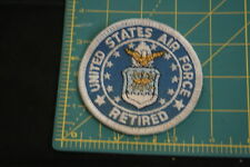 Vintage United States Air Forcce Retired Patch