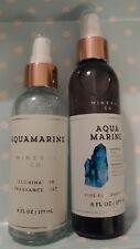 Bath & and Body Works AQUAMARINE MINERAL CO. ILLUMINATING+ Fragrance mist 2 pc