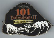 Disney Auctions 101 Dalmatians II 2  Patch's London Adventure LE 100 Pin Pongo