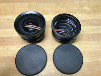 LOT OF 2 Kodak LenS 0.5x Super Wide Angle And Telephoto Converter 37mm