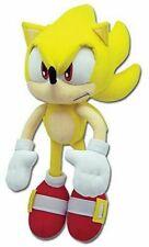"Genuine Sonic The Hedgehog Plush - Super Sonic 12"" Great Eastern Ge-8958"