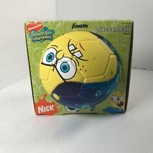 Spongebob Soccer Ball Sponge Bob Nickelodeon Size 3 Franklin Sports 2007