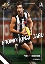 2011 AFL SELECT CHAMPIONS COLLINGWOOD STEELE SIDEBOTTOM #46 PROMO CARD FREE POST