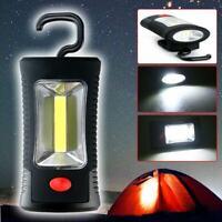 NEW COB LED + 3 LEDs Working Flashlight Lamp Magnetic Hanging Camping Light Good