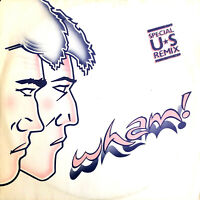 "Wham! 12"" Wham Rap! (Enjoy What You Do) (Special U.S. Re-Mix) - UK (VG+/EX+)"