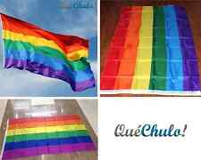 BANDERA MULTICOLOR ARCOIRIS ORGULLO GAY 150 X 90 CM FLAG RAINBOW GAY PRIDE 5'X3'