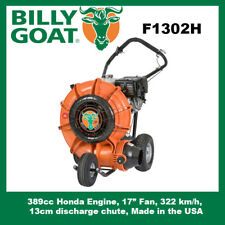 Billy Goat Force F1302H blower - 6.2 x more powerful than a back pack blower.